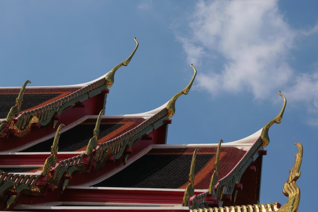 Wat Pho Roof of Temple