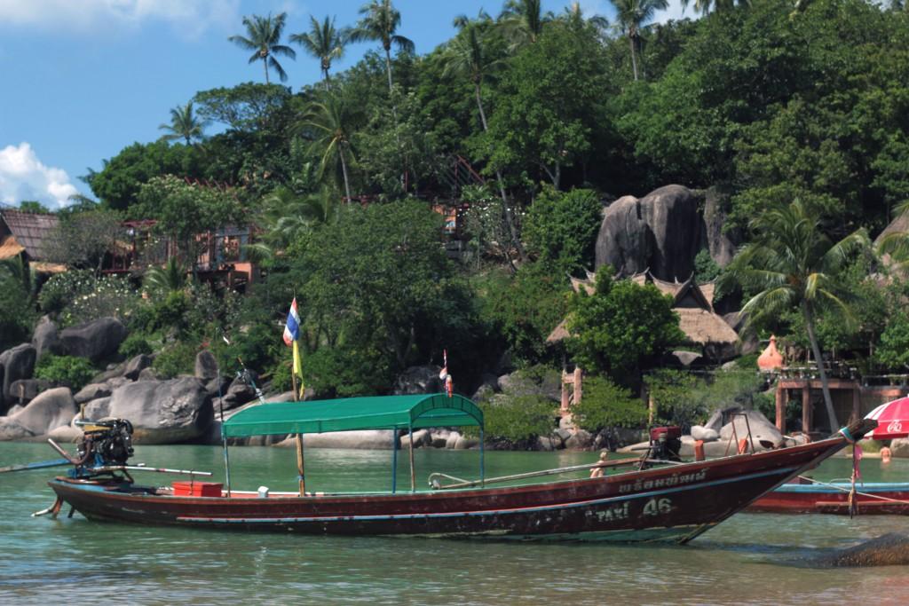 Taxi boat in Ko Tao