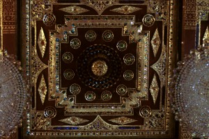 Wat Na Prhamen, detail of ceiling