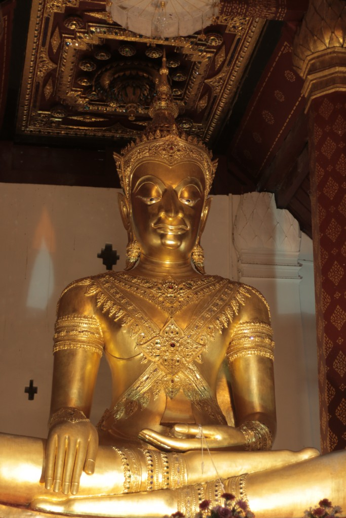 Crowned Buddha, Wat Na Prhamen
